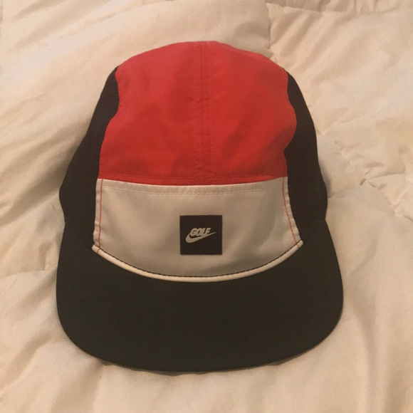 ec2c8f8d54b91 Nike Golf Dri-Fit 5 Panel Hat. M 5adb98408df470c68709c0a6